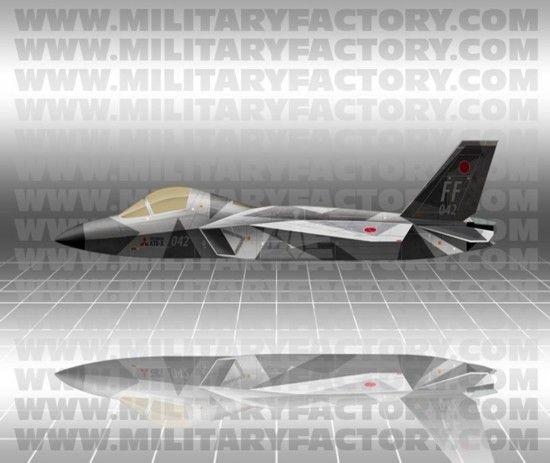 Истребитель ATD-X (Shinshin)
