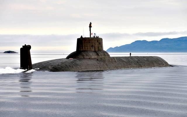 """Атомная подводная лодка ТК-208 """"Дмитрий Донской"""""""