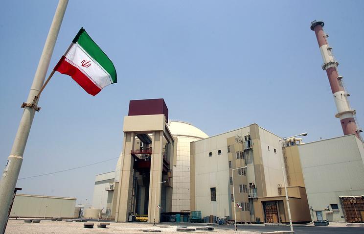 Атомная электростанция в Бушере, Иран.
