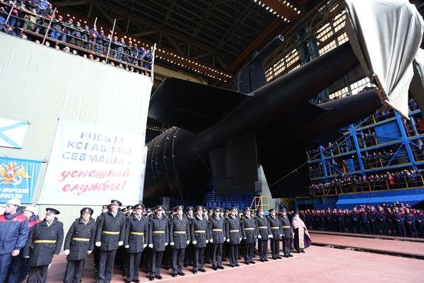 """Атомная подводная лодка """"Белгород"""""""