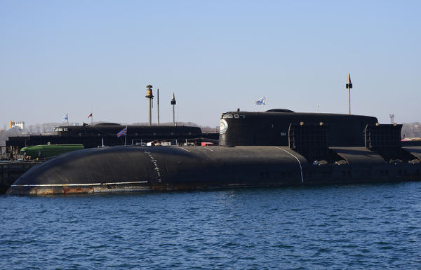 """Атомная подводная лодка проекта 949А """"Антей"""""""