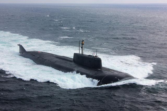 """Атомный подводный ракетный крейсер """"Орел"""""""