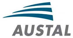 Логотип судостроительной компании Austal.