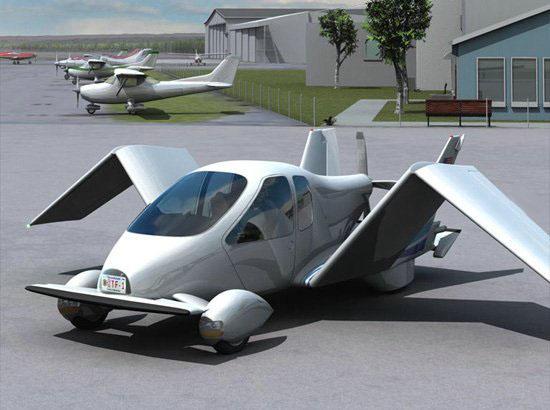 летающих автомобилей