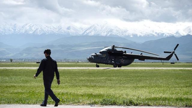 Авиабаза Кант в Киргизии