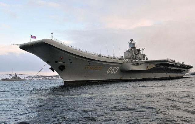 """Авианесущий крейсер """"Адмирал Кузнецов"""""""