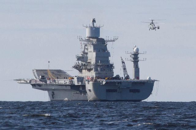 Авианосец ВМФ Индии Vikramaditya