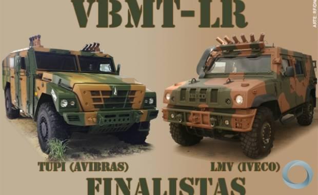 Участники финального этапа бразильского тендера по программе Viatura Blindada Multitarefa - Leve de Rodas (VBMT-LR) - легкие бронированные машины Avibras Tupi и Iveco LMV.