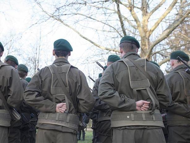 Военнослужащие ВС Австрии