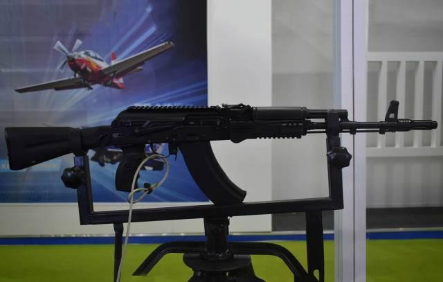 Автомат АК-203 в конфигурации для индийской армии