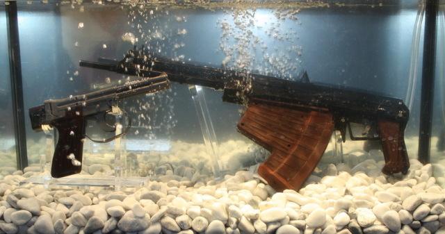 Автомат АПС и пистолет СПП-1М