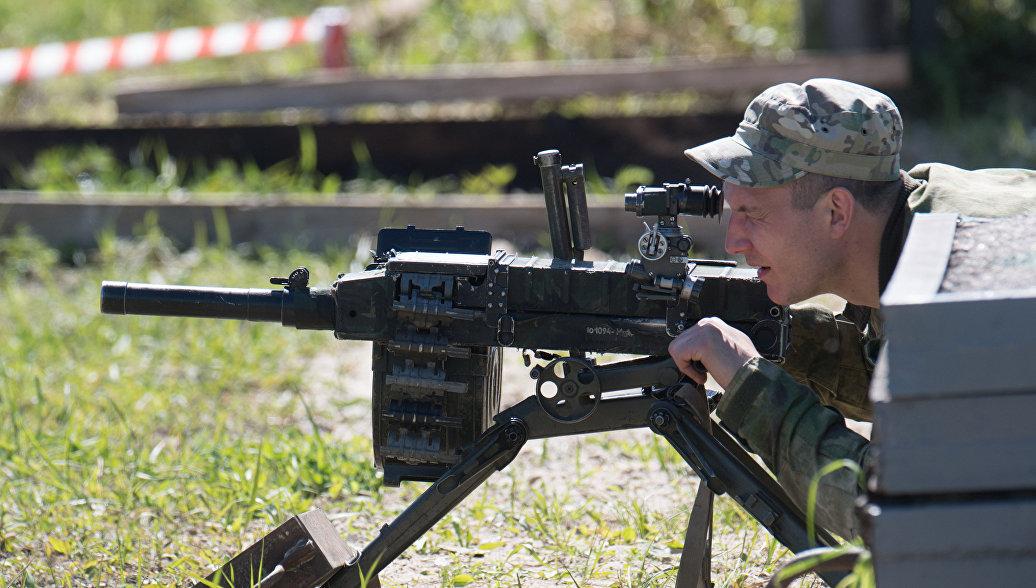 Автоматический станковый гранатомет АГС-30.