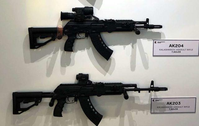 """Автоматы концерна """"Калашников"""" АК-204, АК-203"""