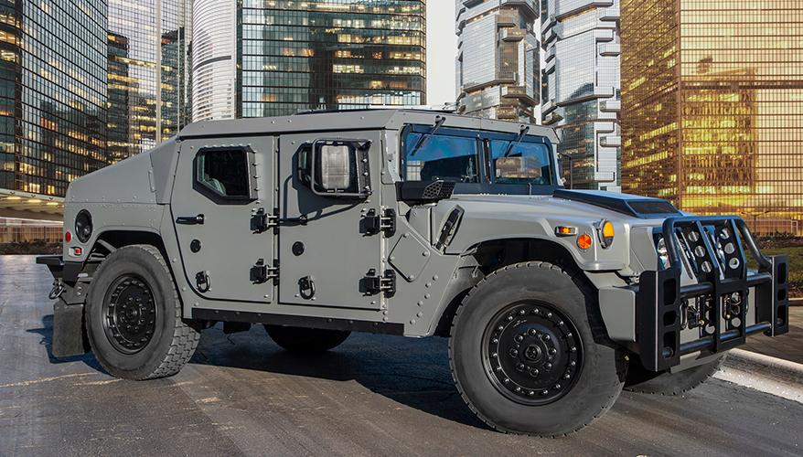 Новый защищенный автомобиль АМ General NXT 360 - модернизированный вариант семейства автомобилей HMMWV.