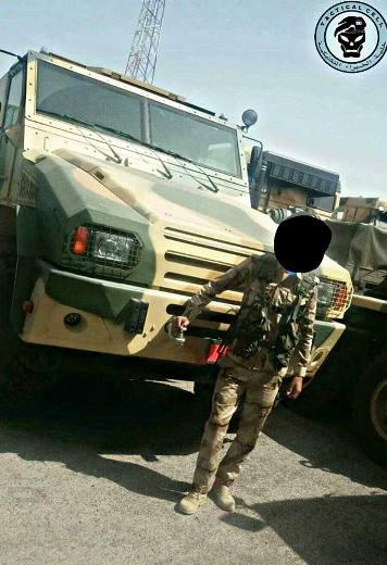 """Автомобиль """"Горец-М"""" ВС Ирака."""