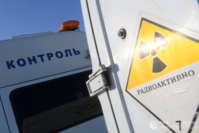 Автомобиль радиационного контроля