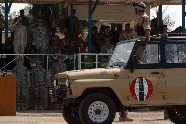 Автомобиль УАЗ-469 (УАЗ-3151) ВС Ирака