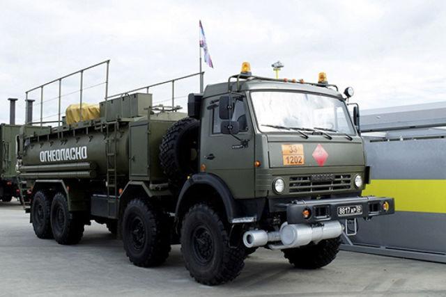 Автозаправщик КамАЗ-63501