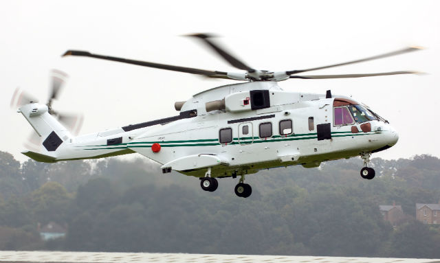 Вертолет AW101.