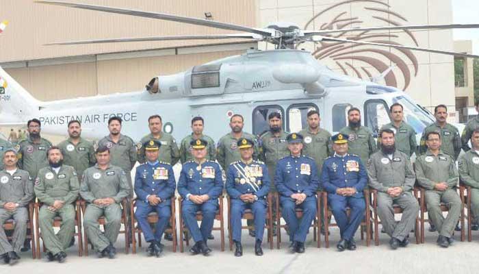 AW-139 ВВС Пакистана.