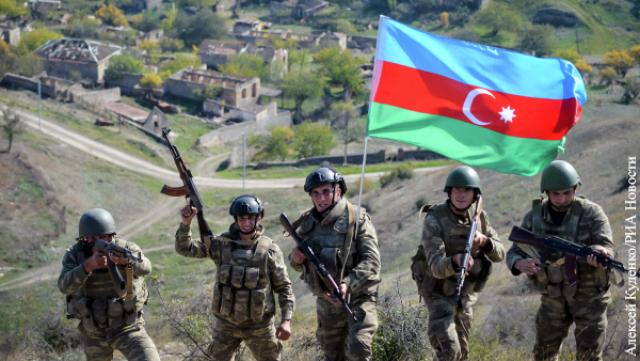 Военнослужащие ВС Азербайджана