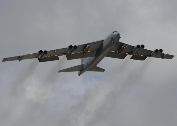 Бомбардировщик B-52 Stratofortress.
