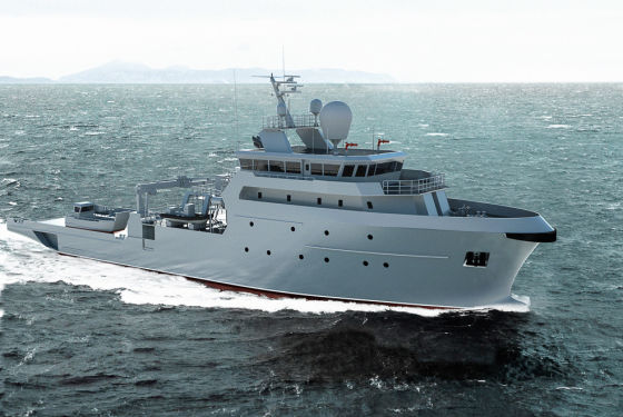 Корабль B2M