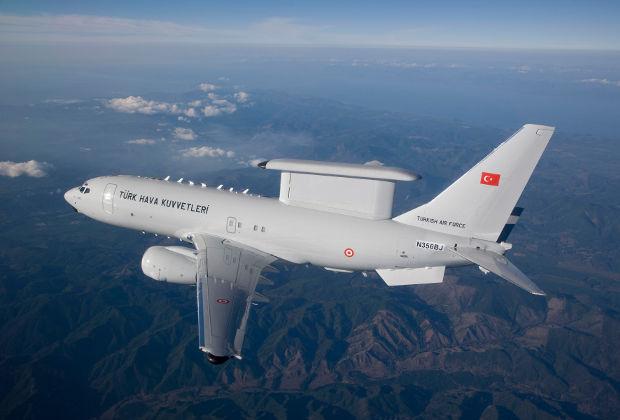 B737 Peace Eagle ВВС Турции.