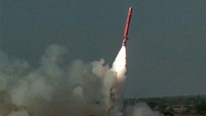 Пакистанская крылатая ракета для подводных лодок (КРПЛ) Бабур-3 (Babur-3).