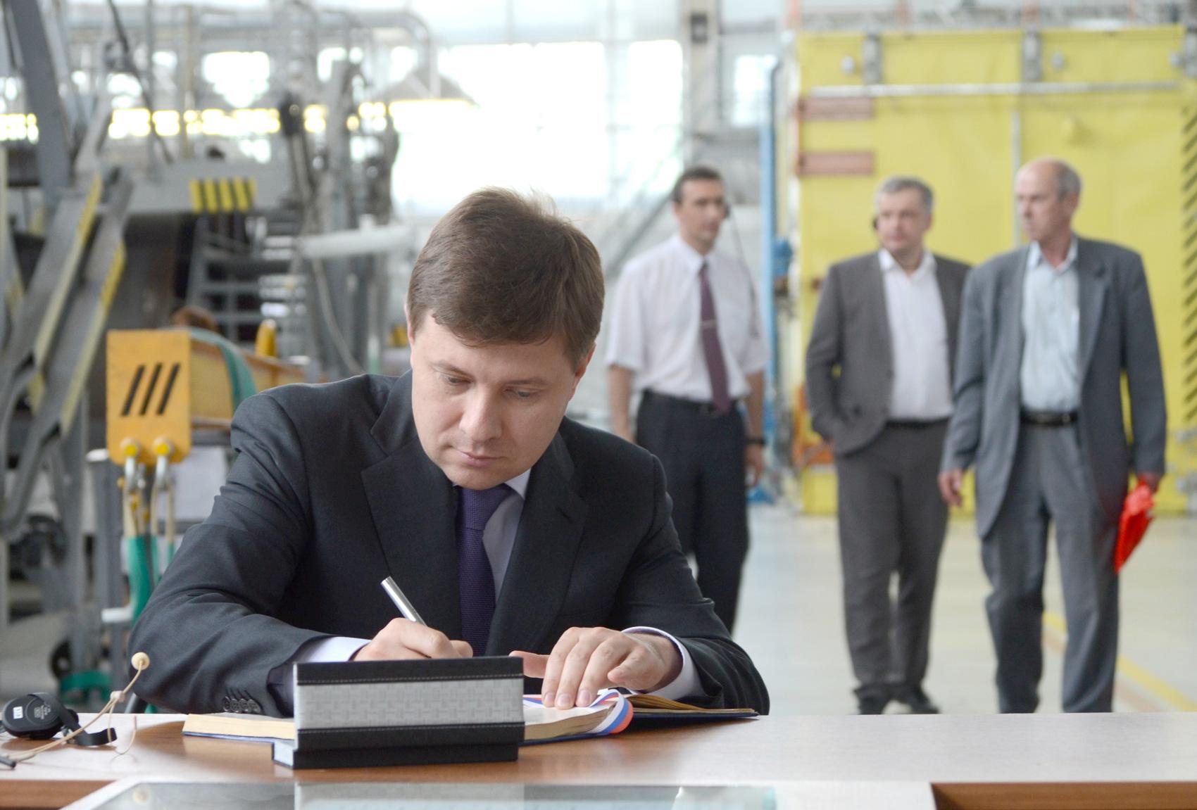 Директор Департамента авиационной промышленности Минпромторга России Андрей Богинский.
