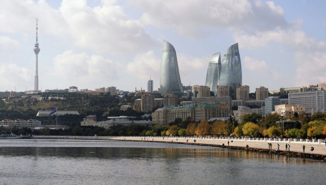 Город Баку. Архивное фото.