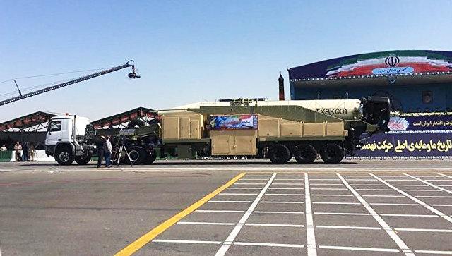 Баллистическая ракета Khorramshahr.