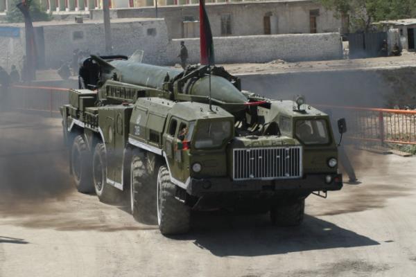 Баллистическая ракета Р-17 «Скад»