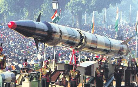 """Баллистические ракеты семейства """"Агни"""" являются одним из главных элементов ядерной триады Индии."""