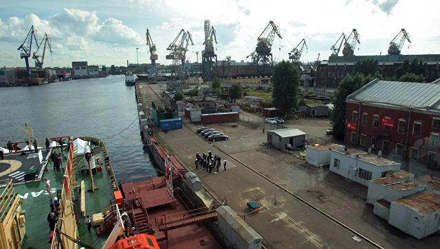 Балтийский завод. Архивное фото.