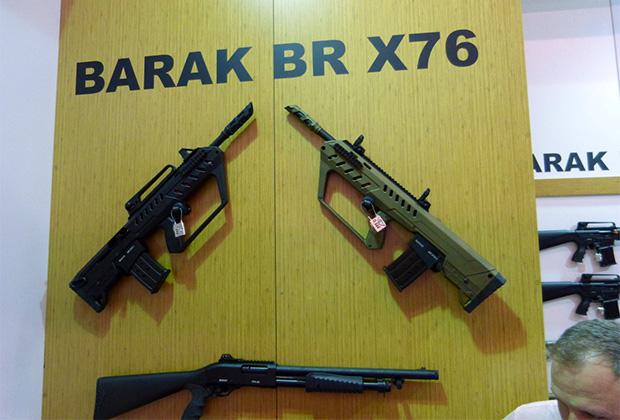 Турецкие дробовики Barak BR X76