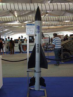 Ракета ЗРК Barak 1