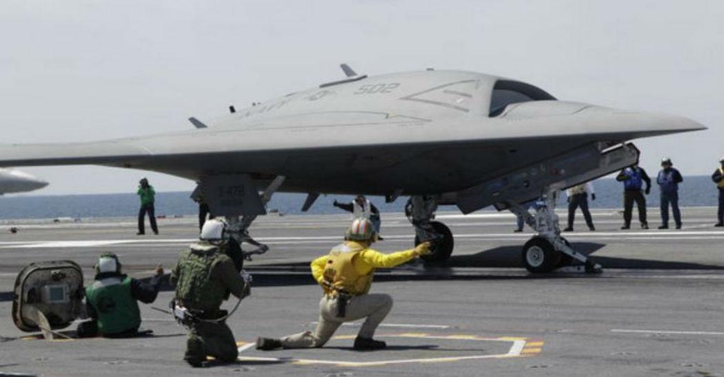 Многоцелевой БПЛА X-47B