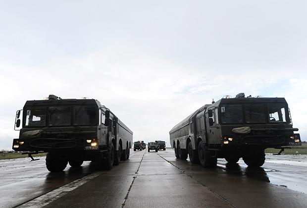 Береговой ракетный комплекс «Бастион».