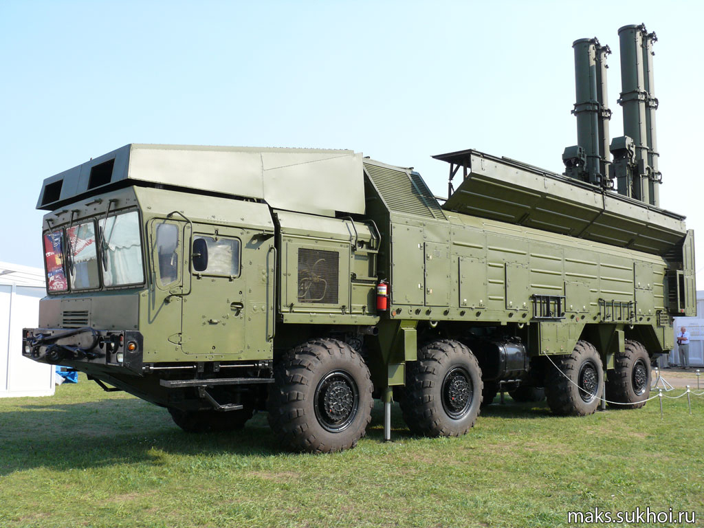 Ракетный комплекс «Бастион».