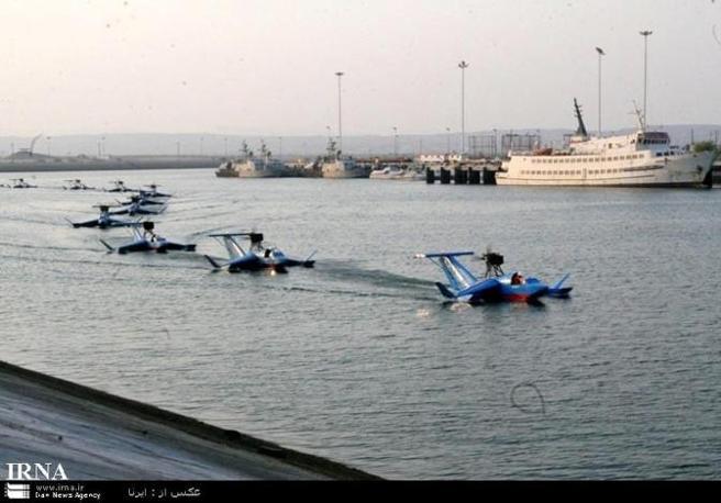 Иранские экранопланы Bavar 2.
