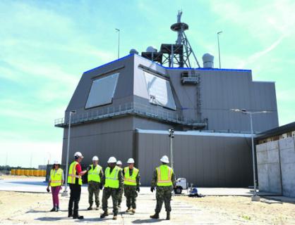 База ПРО США в польском Редзиково может получить не только противоракеты, но и ударные средства нападения. Фото с сайта www.dvidshub.net