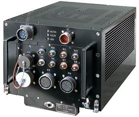 Бортовая цифровая вычислительная машина БЦВМ «Багет-53-31М серия 1» производства АО «Раменское приборостроительное конструкторское бюро», использующая операционную систему реального времени ОС РВ «Багет 3.0».