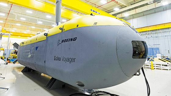 Подводный аппарат Echo Voyager