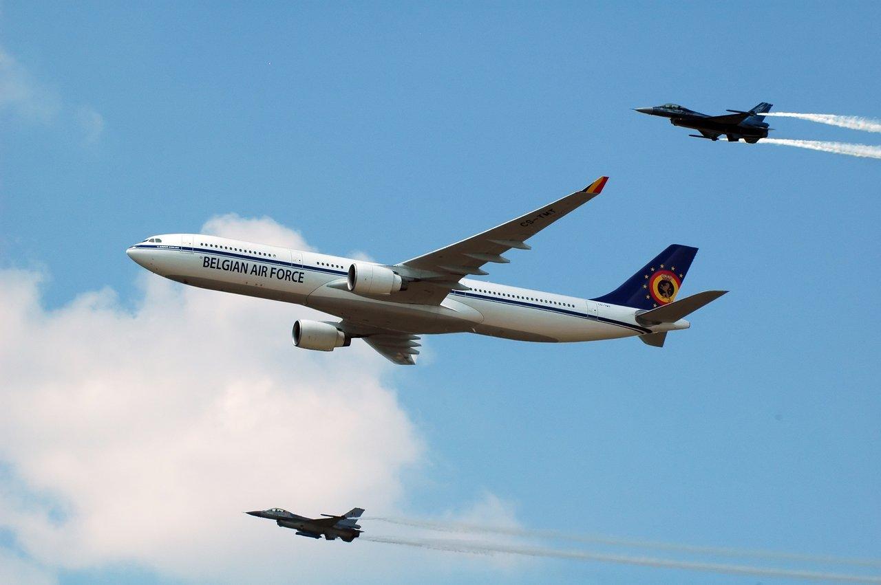 Airbus A330 ВВС Бельгии. Источник: dax48.deviantart.com.