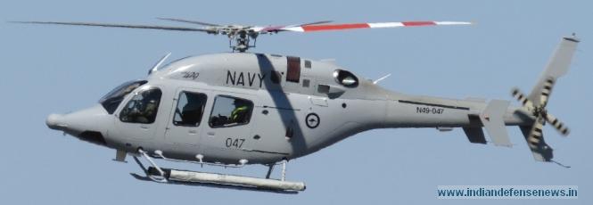 Военно-морской вариант вертолета Bell 407