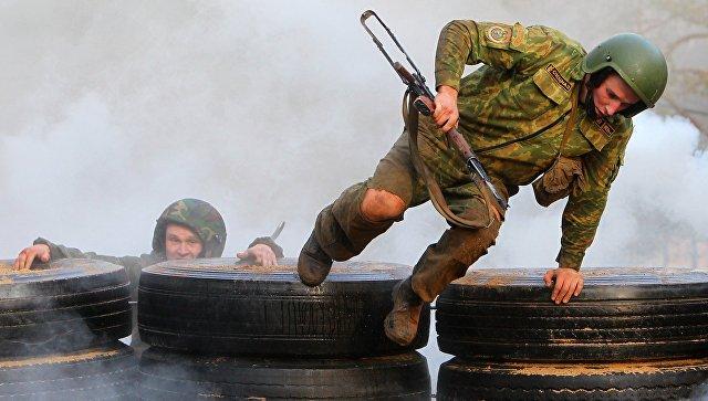 Белорусский спецназ. Архивное фото.
