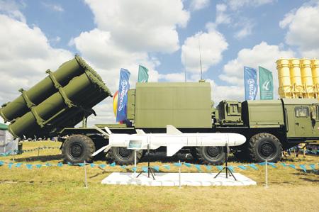 """Береговой ракетный комплекс """"Бал-Э""""."""