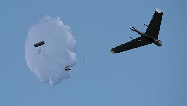 Беспилотный летательный аппарат. Архивное фото.