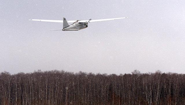 Беспилотный летательный аппарат (БПЛА) Орлан-10.